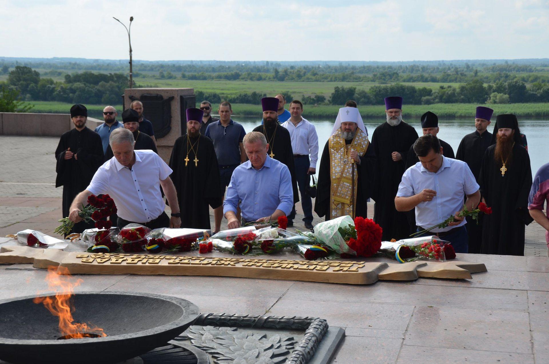 В Херсоне почтили память жертв Второй мировой войны