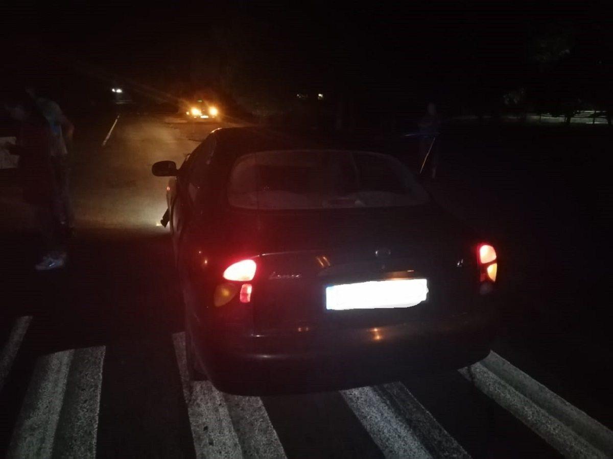На Херсонщине погиб пешеход, сбитый двумя автомобилями