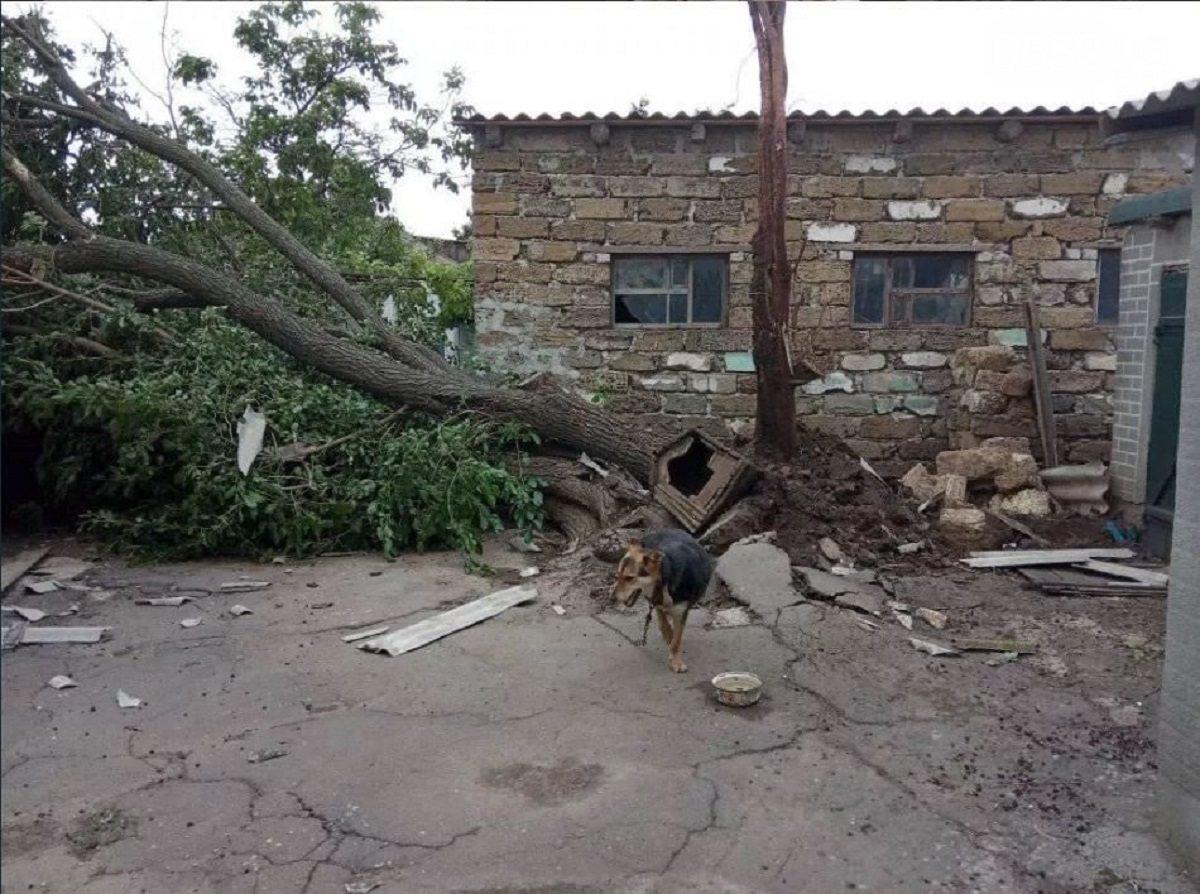 Над Херсонщиной пронёсся разрушительный торнадо