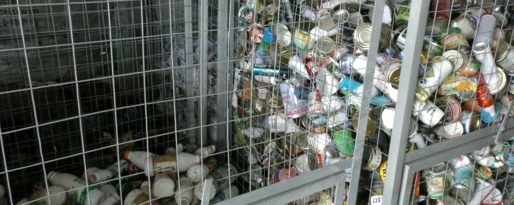 Як у Херсоні працює лінія із сортування сміття