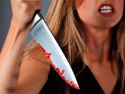 В семейной ссоре на Херсонщине женщина ранила себя ножом