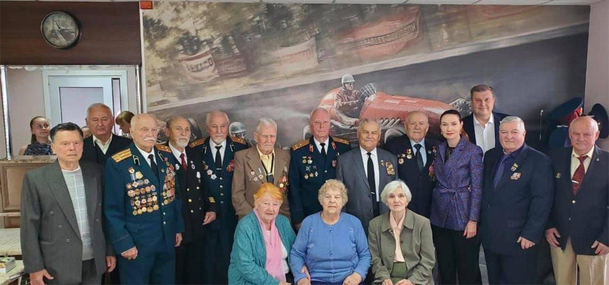 В Херсоні традиційно привітали ветеранів із 75-річчям перемоги у Другій світовій війні