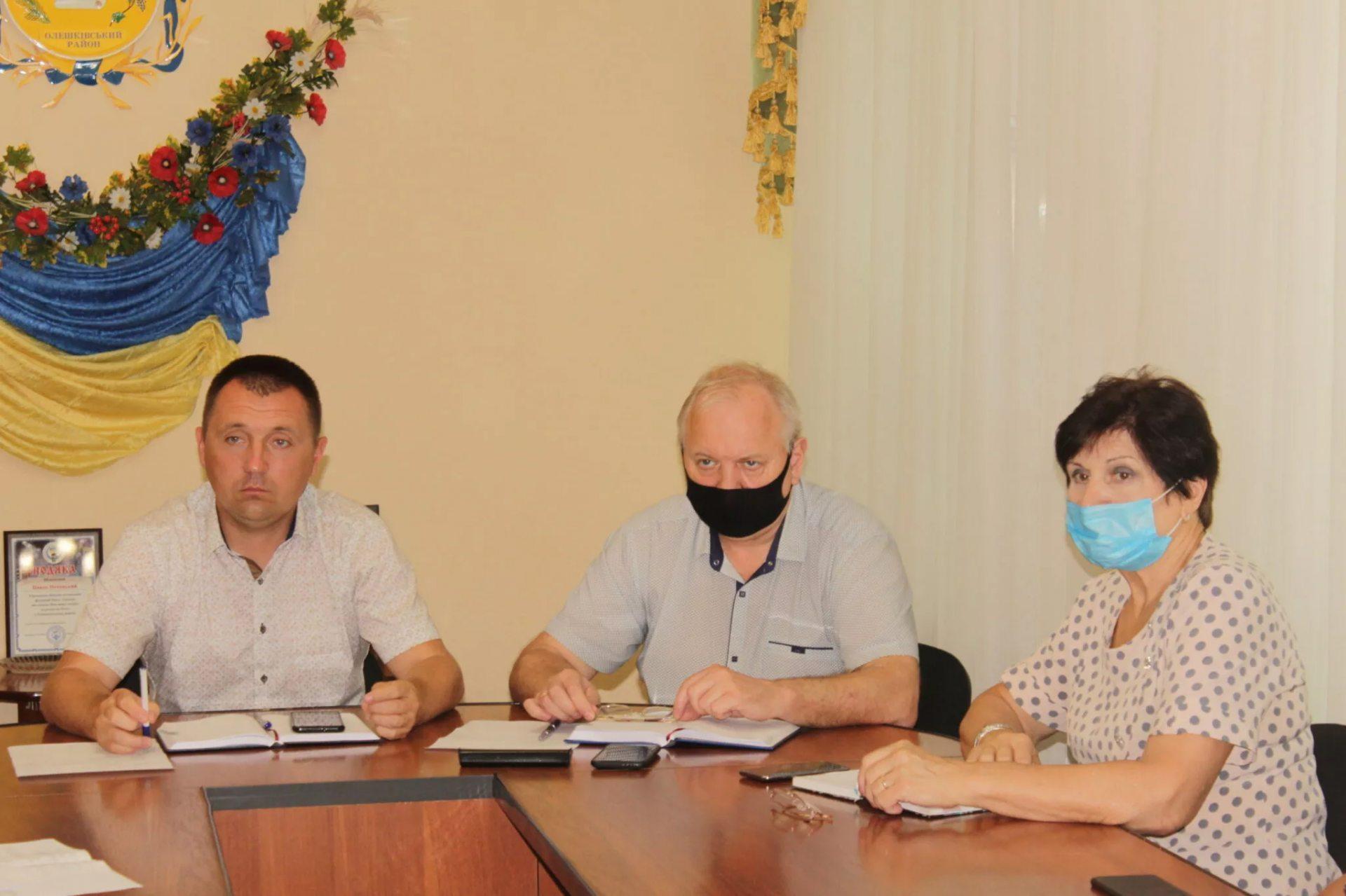 У Олешківській районній раді провели черговий День комунальника