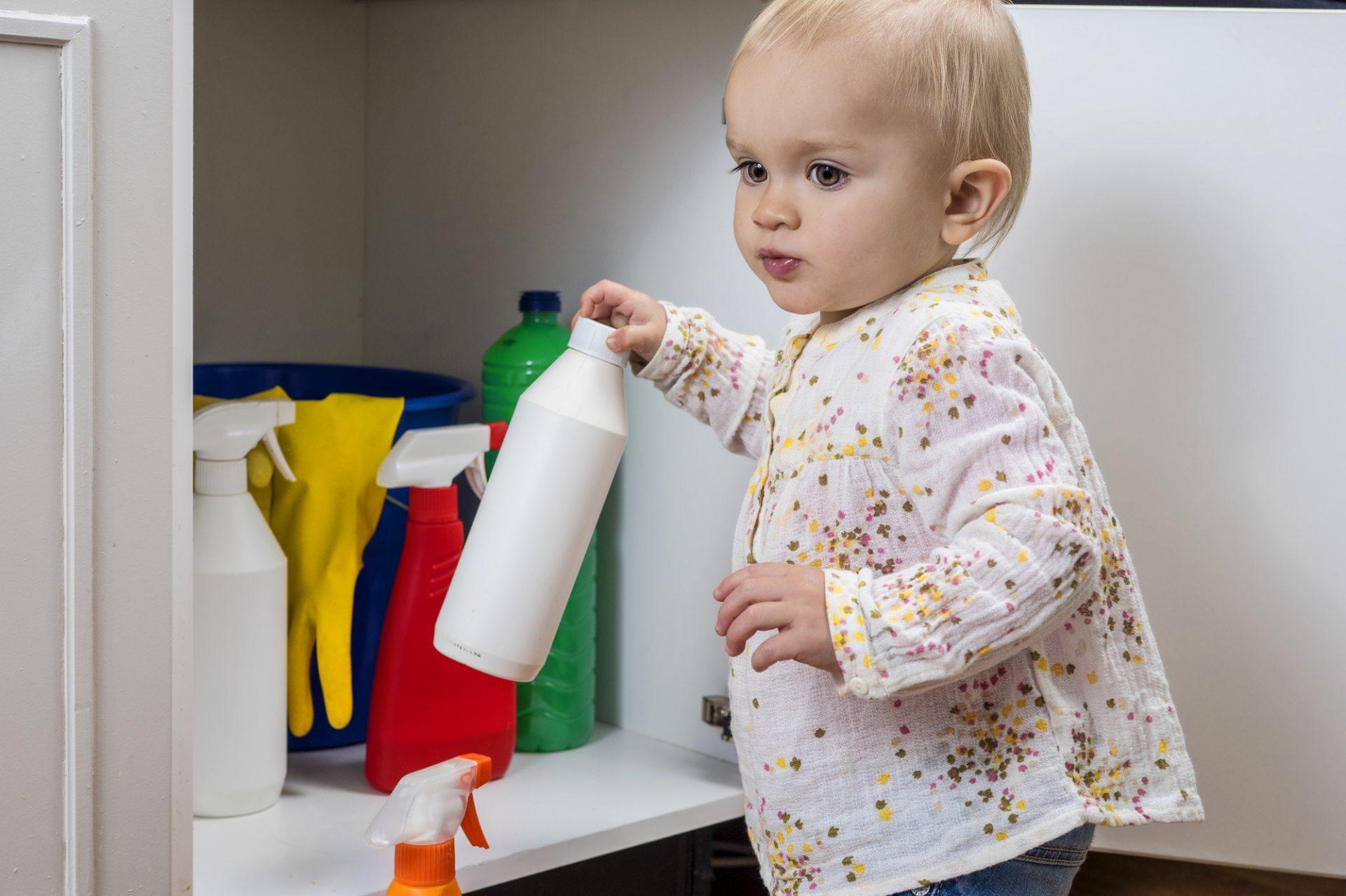 В Херсоне ребёнок отравился бытовой химией