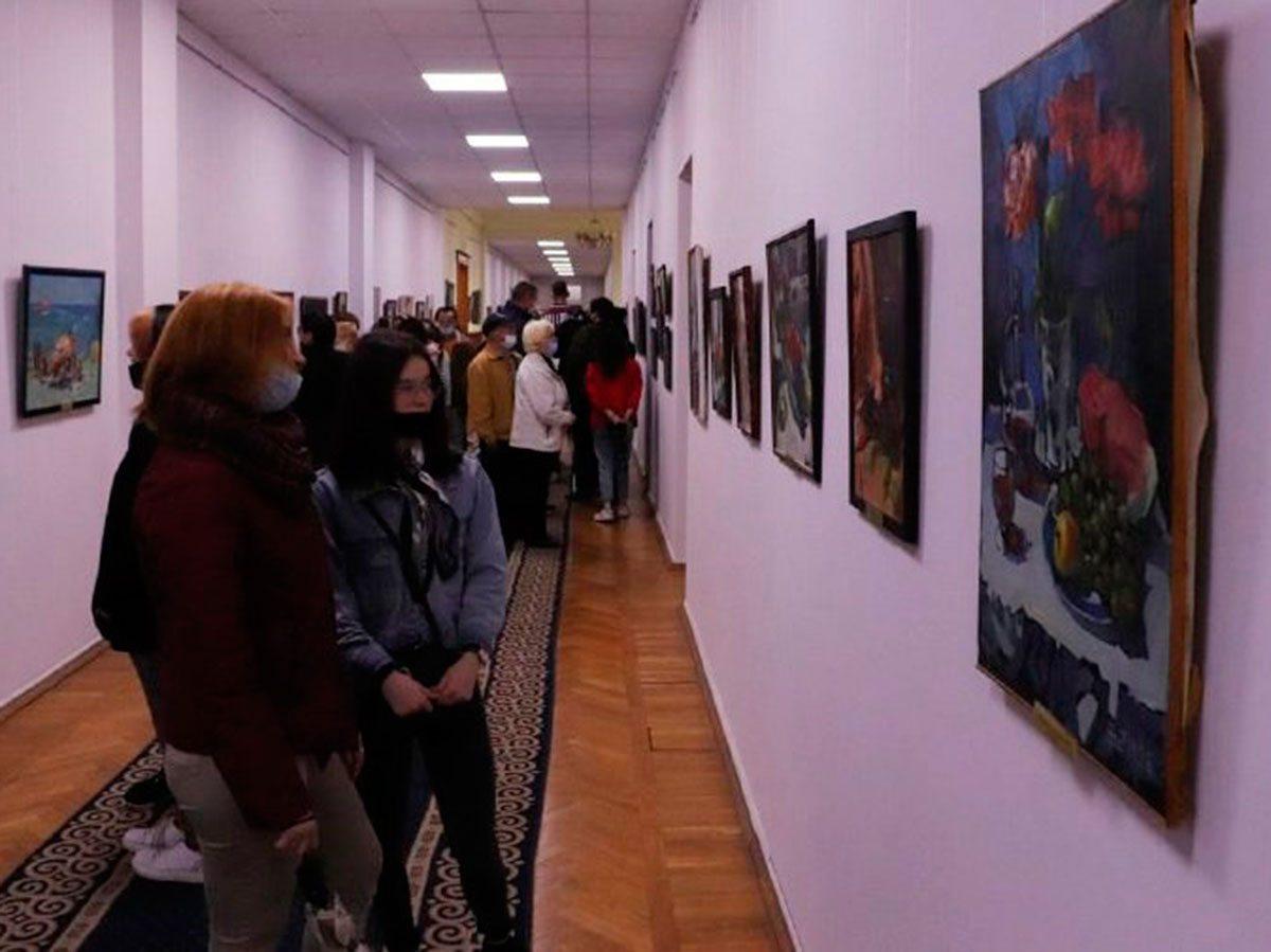 ХДУ, виставка, Ракович