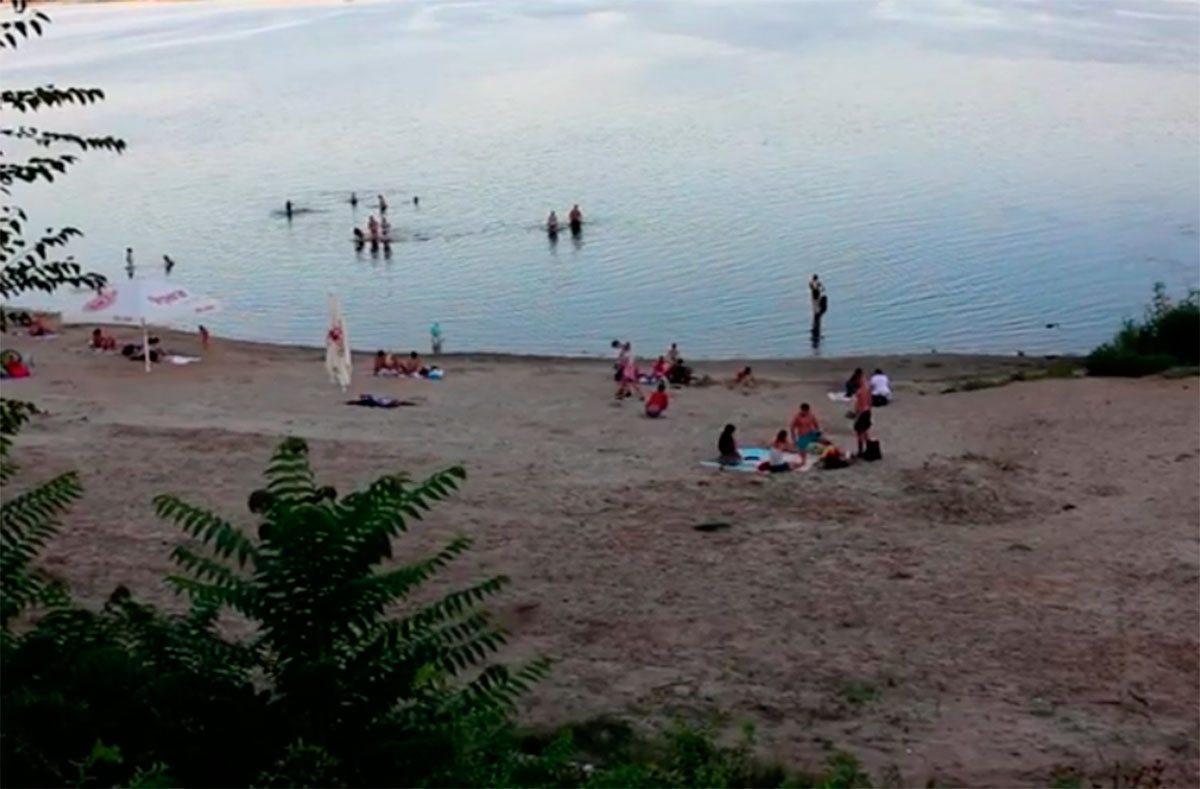 Херсон, відео, пляж