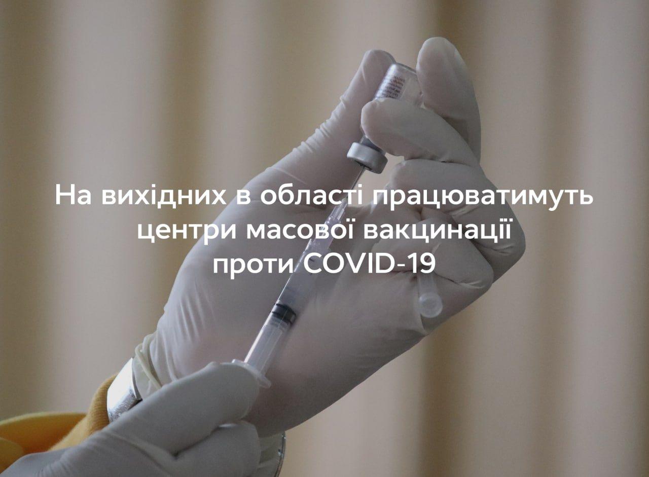 Херсонщина, вакцинація, COVID-19