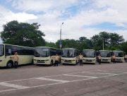 Первые коммунальные автобусы уже в Херсоне