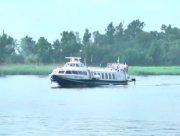 На Херсонщині діють швидкісні річкові перевезення