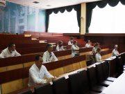 Студенти медичного факультету Херсонського держуніверситету проходять державний іспит