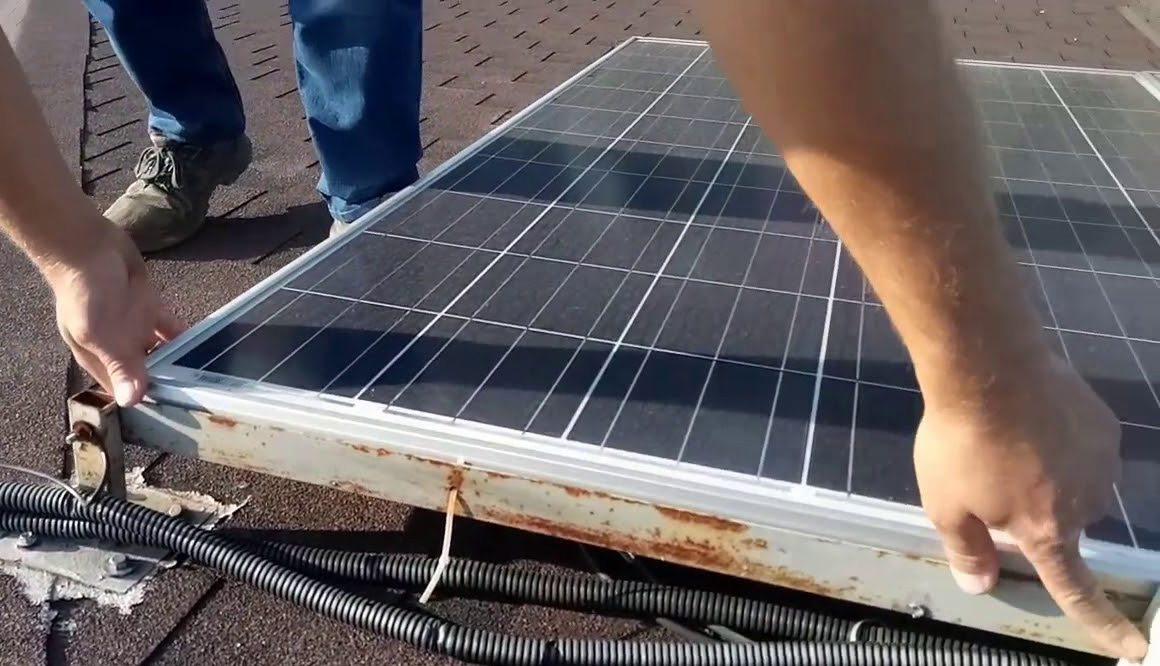 кража, курорт, солнечные батареи