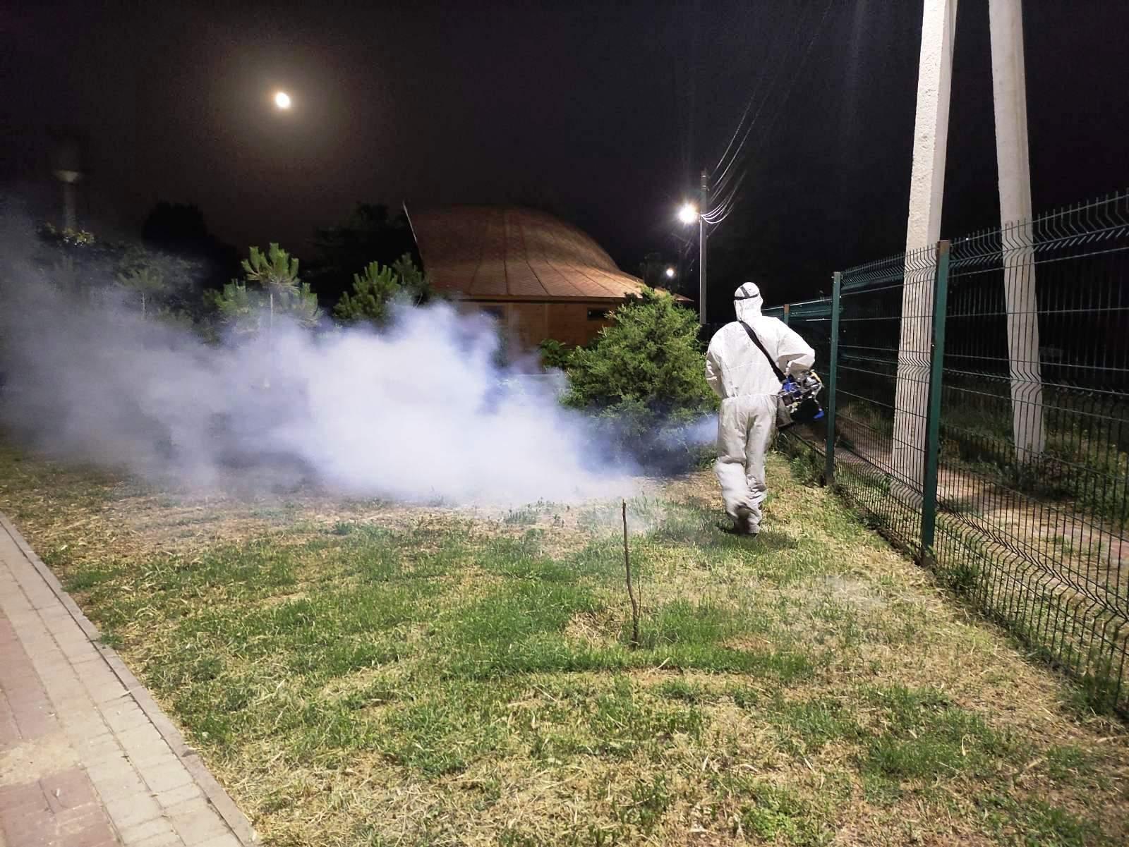 Арабатська Стрілка, комарі, знешкодження