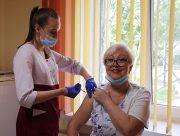 У Херсонському держуніверситеті завершилася друга сесія вакцинації від Covid-19