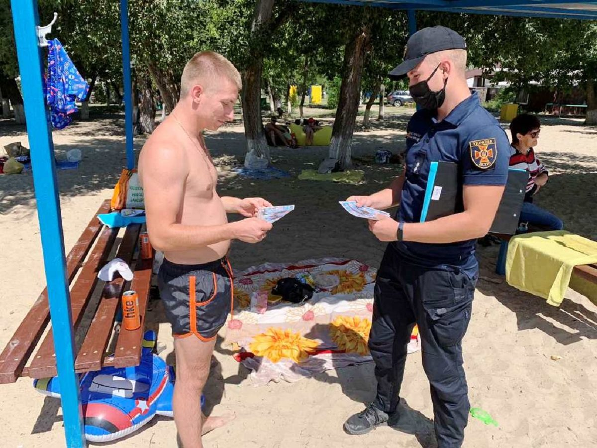 пляжи, спасатели, купание