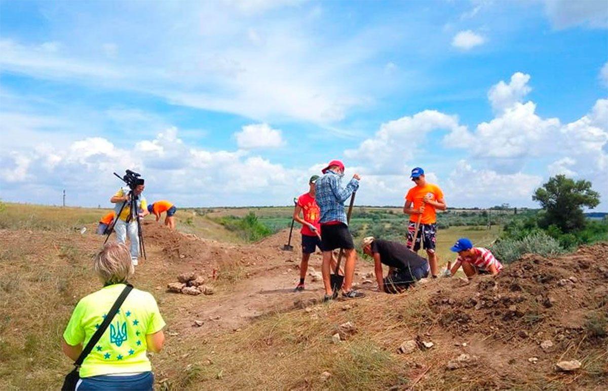 Херсонщина, пошук, археологи