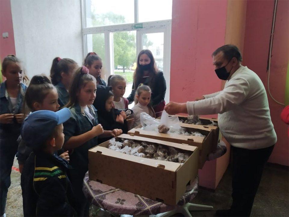діти, подарунки, Дмитрук
