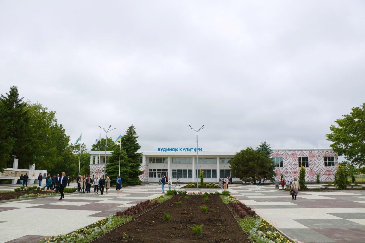 Хрестівська громада, Хвостов, площа