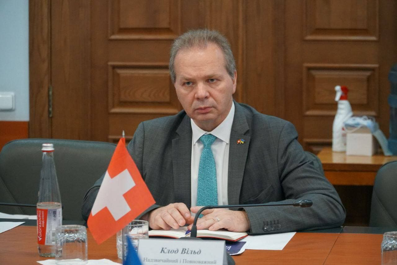 Швейцария,Херсонская ОГА,посол