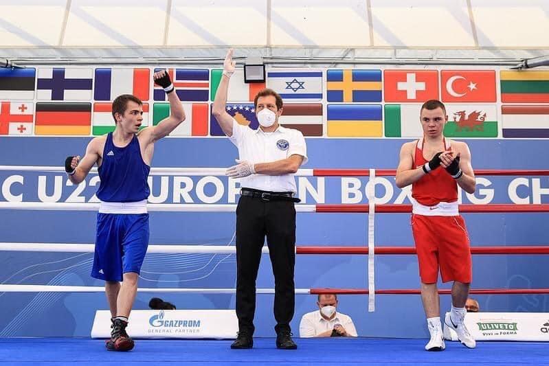 боксер, чемпіон, Галінічев