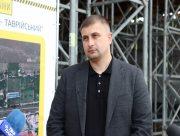 Глава Херсонской ОГА вместе с журналистами посетил строительство мостоперехода Таврический - ХБК