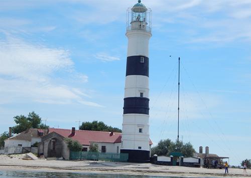 Старейший маяк юга Украины расположен на Херсонщине