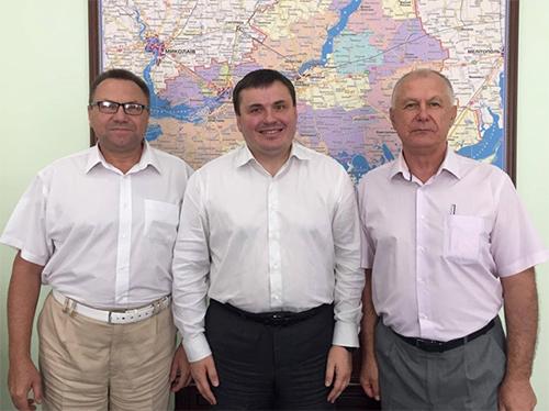 Новий керівник Херсонщини Юрій Гусєв бачить своїм пріоритетом в роботі створення комфортних умов для проживання мешканців області