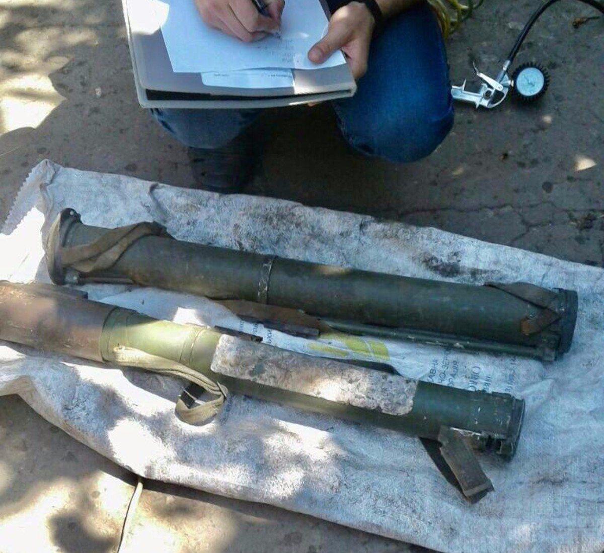 Полицейские обнаружили в доме жителя Херсонщины целый склад оружия