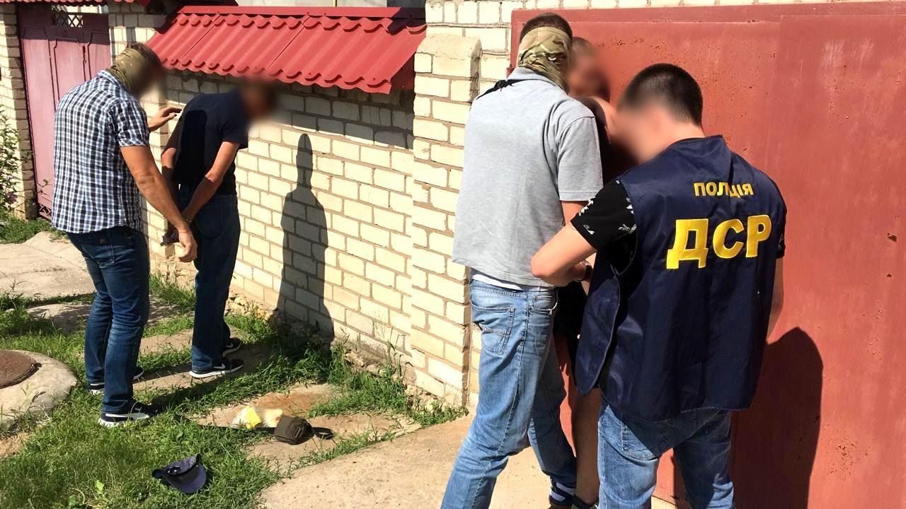 В Херсоне задержали группу поставщиков наркотиков на зоны