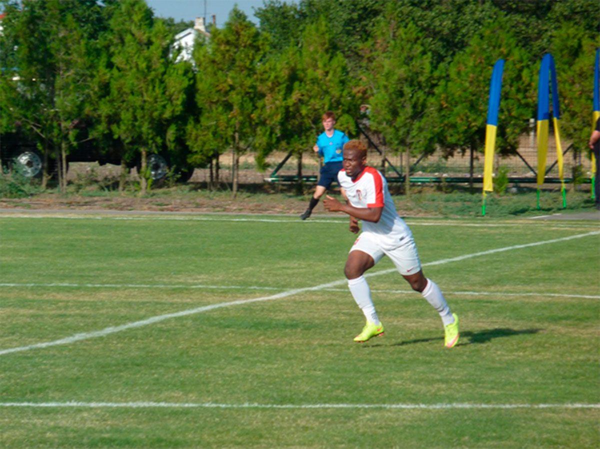 В аматорском футболе Херсонщины появились легионеры из Африки