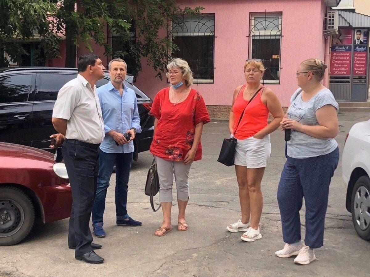 Народный депутат окажет помощь пострадавшим во время пожара в Новой Каховке