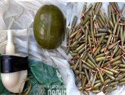 У судимого жителя Херсонщины изъяли гранату и две сотни автоматных патронов