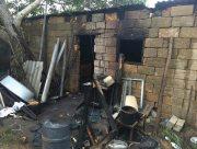 Житель Херсонщины получил серьёзные ожоги на пожаре собственного дома