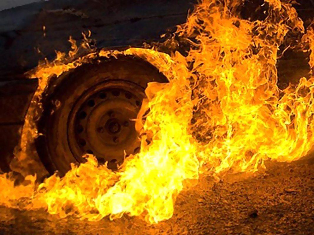 На Херсонщине активизировались поджигатели машин