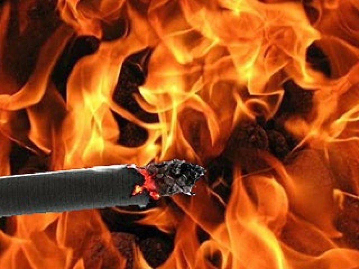 Высокопольский район,пожар