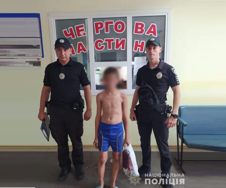 Херсонські поліцейські повернули додому 10-річного втікача