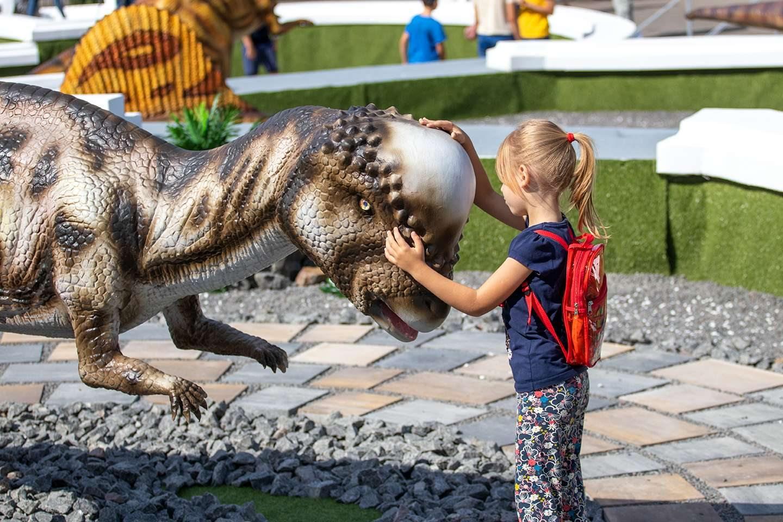 динозаври, парк, Колихаєв