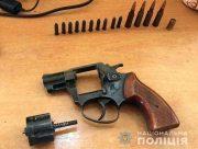 Полицейские обнаружили у херсонца револьвер с патронами