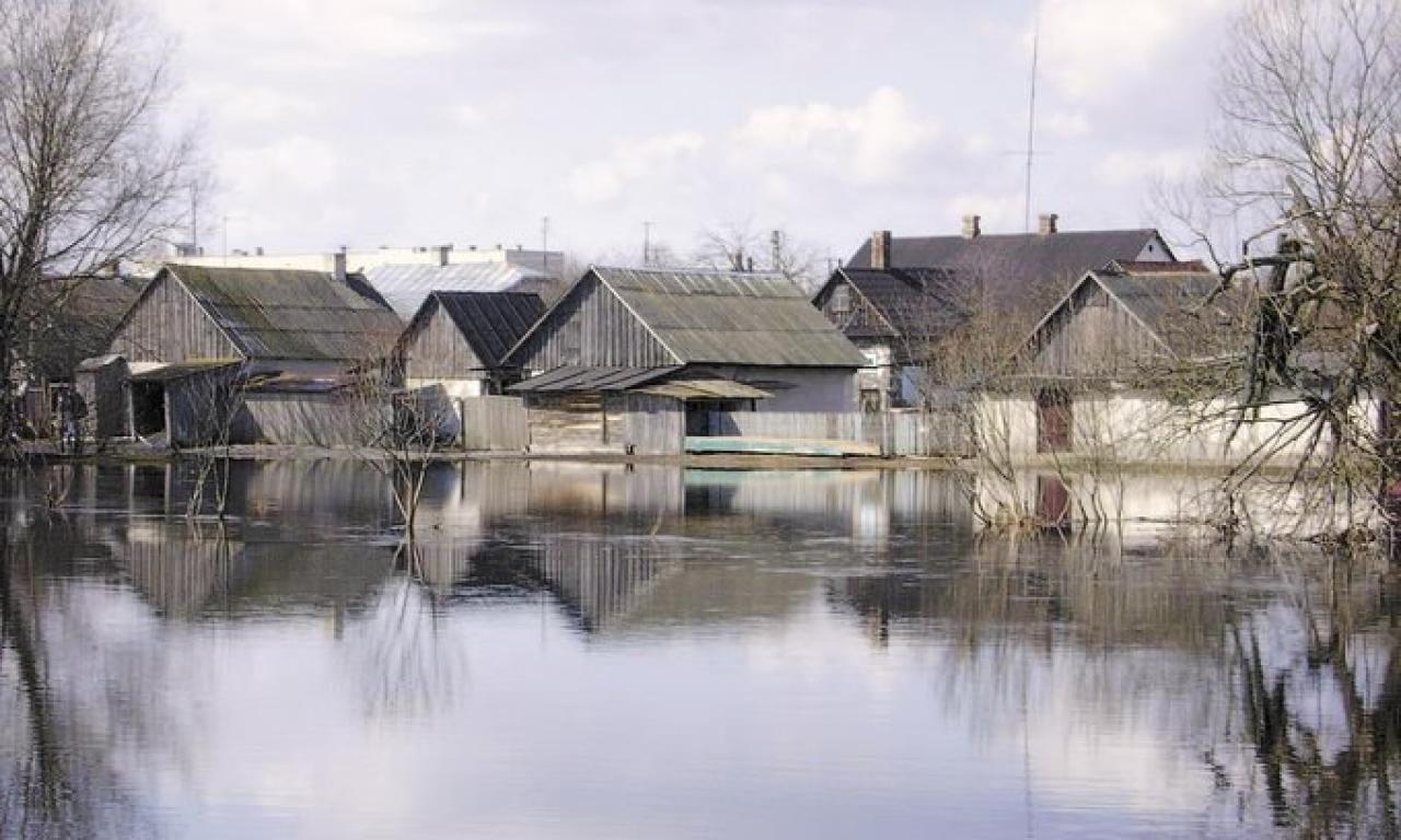 На півдні Херсонщини поверхневі води підтопили село
