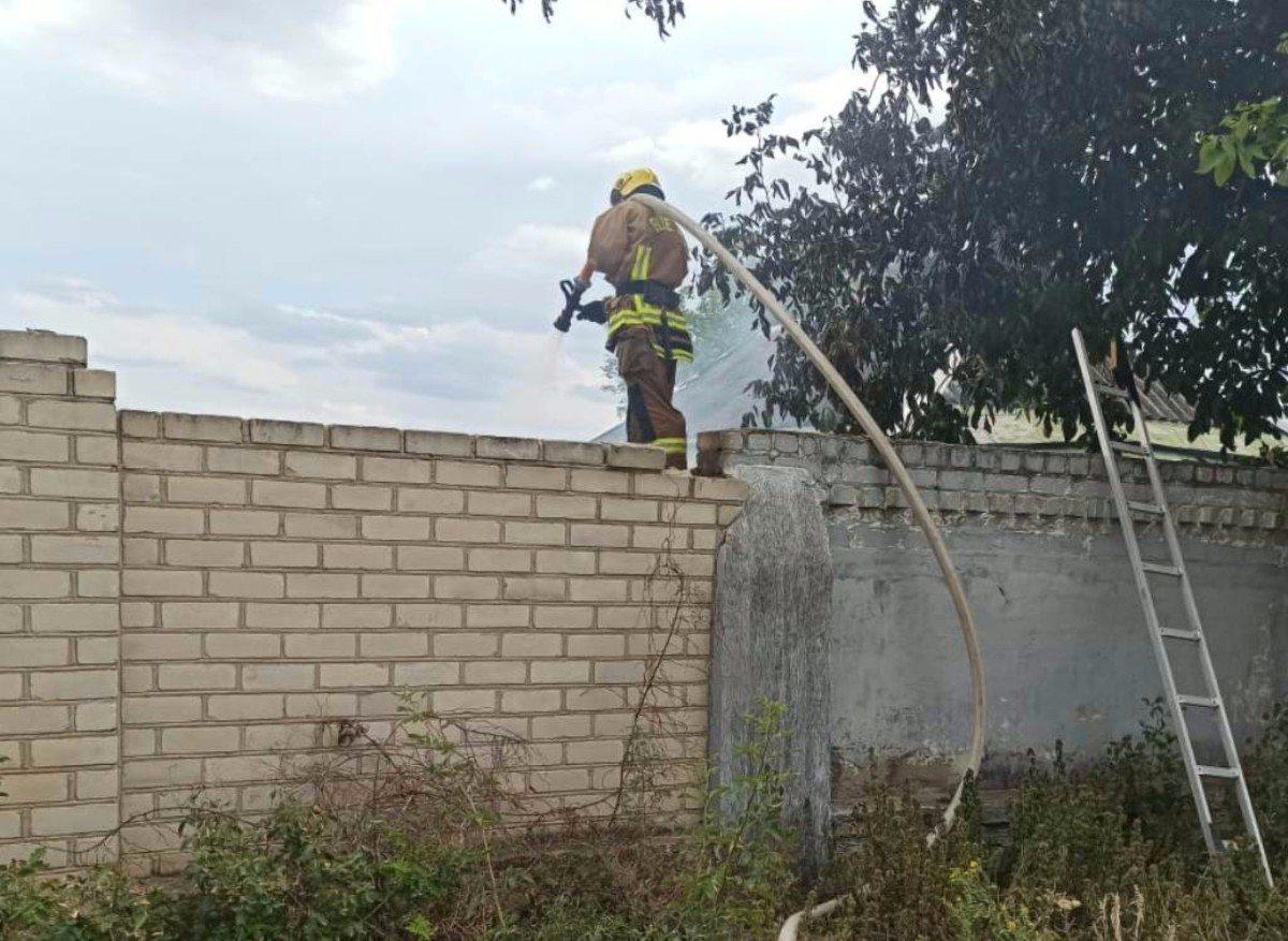Херсон,пожар,Степановка