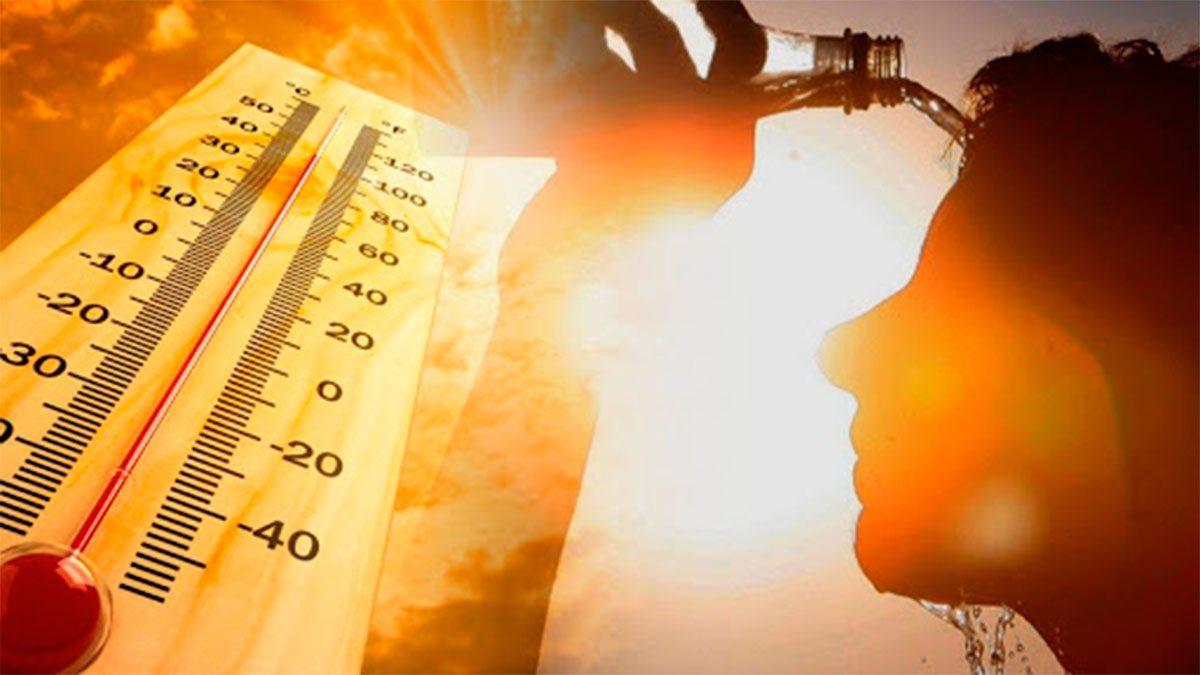 Херсонцы страдают от жары
