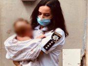 Херсонские полицейские составили админпротокол на пьяную мать 4-месячного младенца