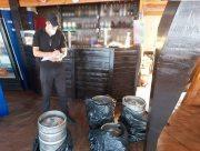 На Арабатской стрелке полиция изъяла некачественный алкоголь