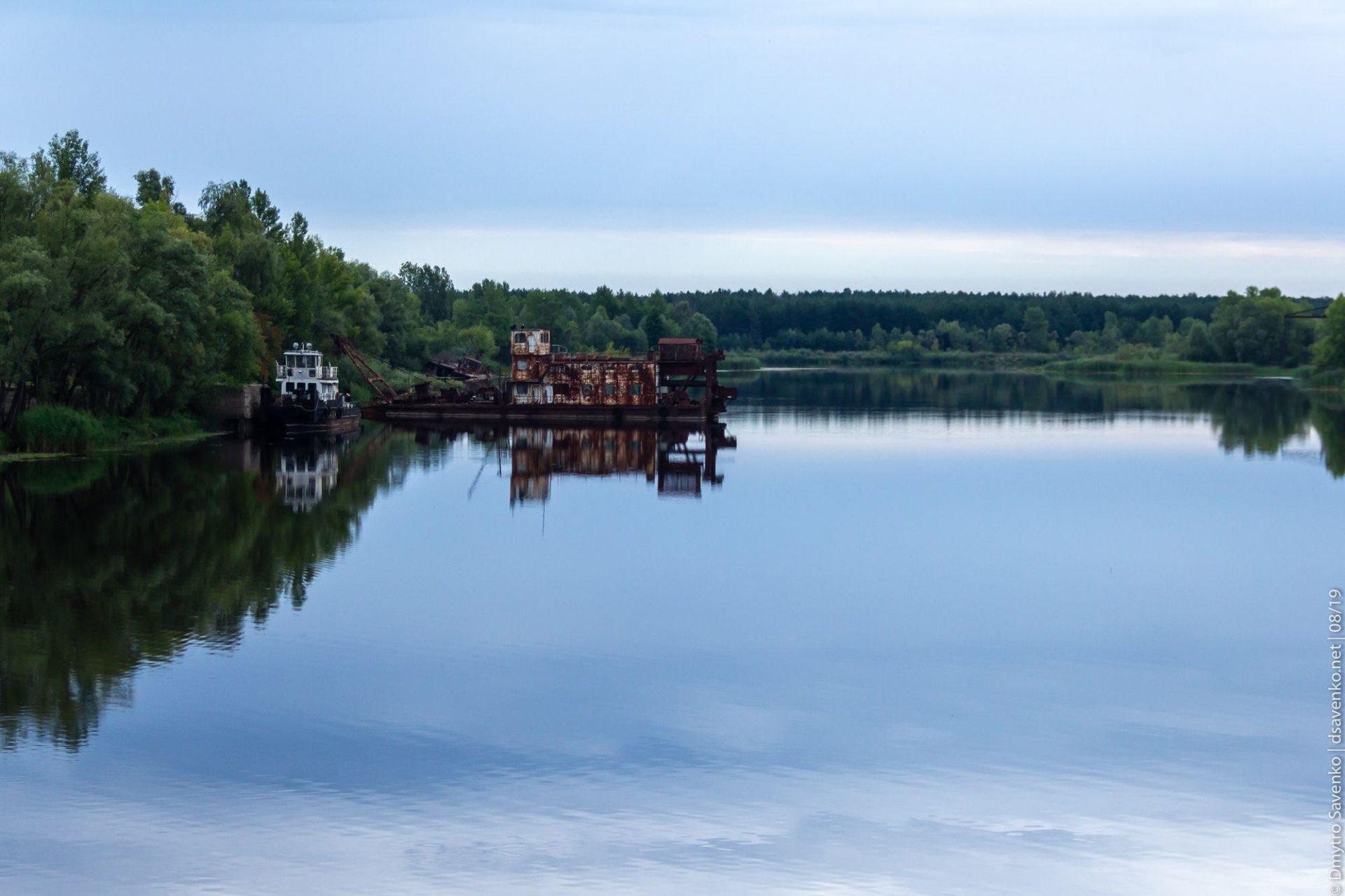 Днопоглиблення на річці Прип'ять може призвести до загрози поширення радіації по усій акваторії Дніпра