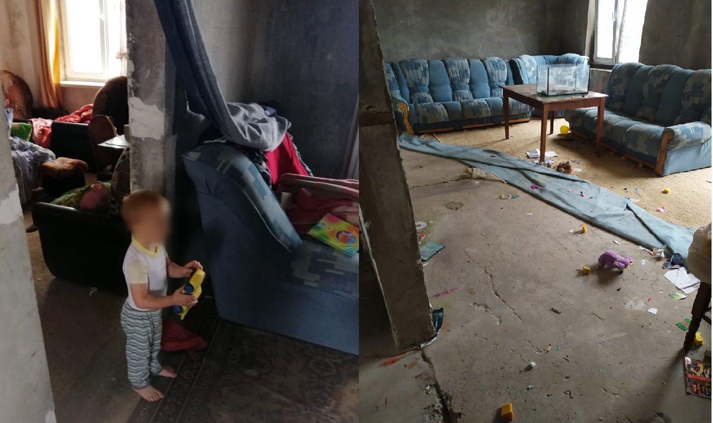 В Херсоне у пьющей матери забрали трехлетнего ребенка