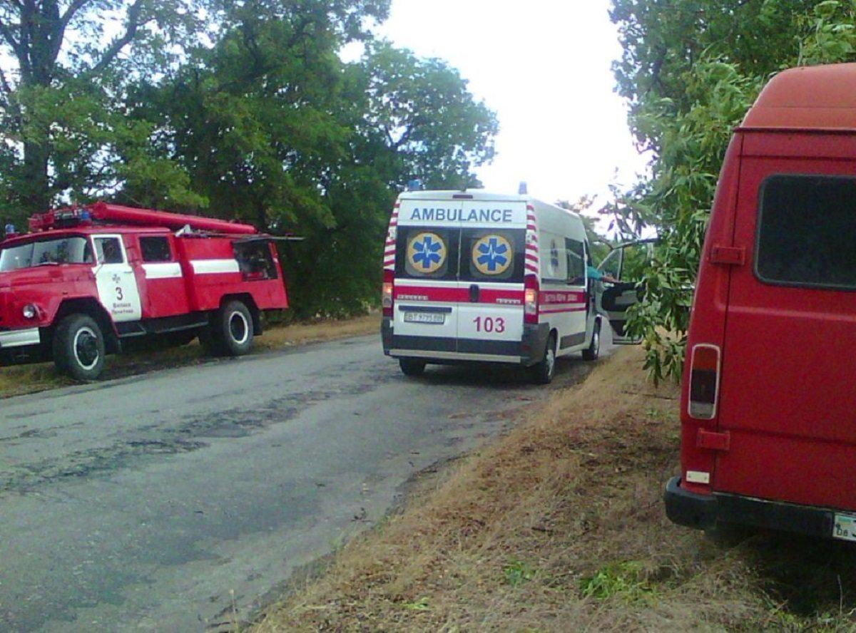 микроавтобус, мерседес, спасатели