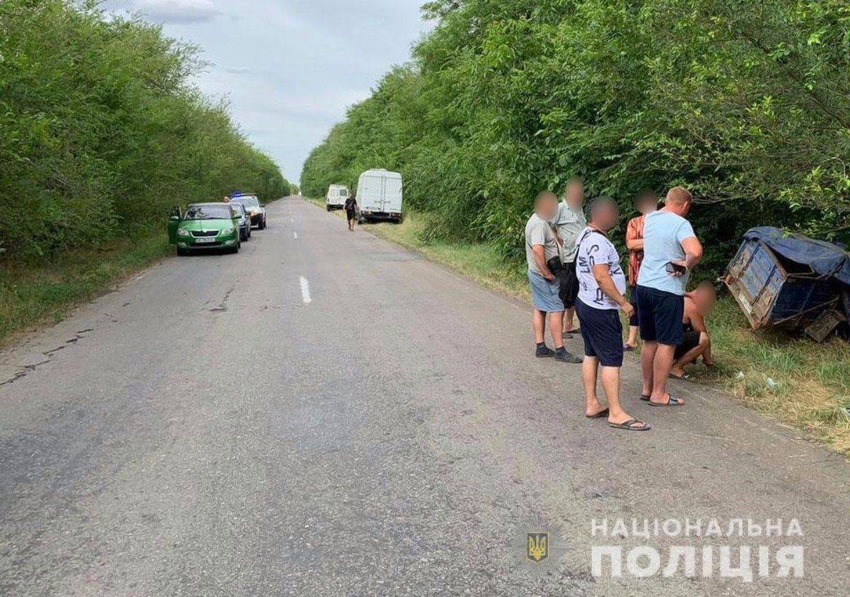 На Херсонщине в ДТП пострадало три человека, в том числе ребёнок