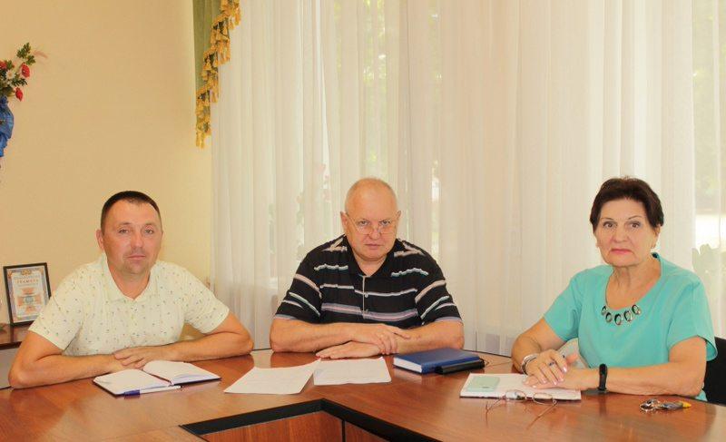 В Олешківській райраді вирішували питання комунальної власності