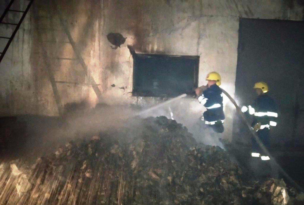 Горностаевский район,пожар,склад