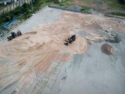 В Херсоне частично отремонтируют футбольный стадион (видео)