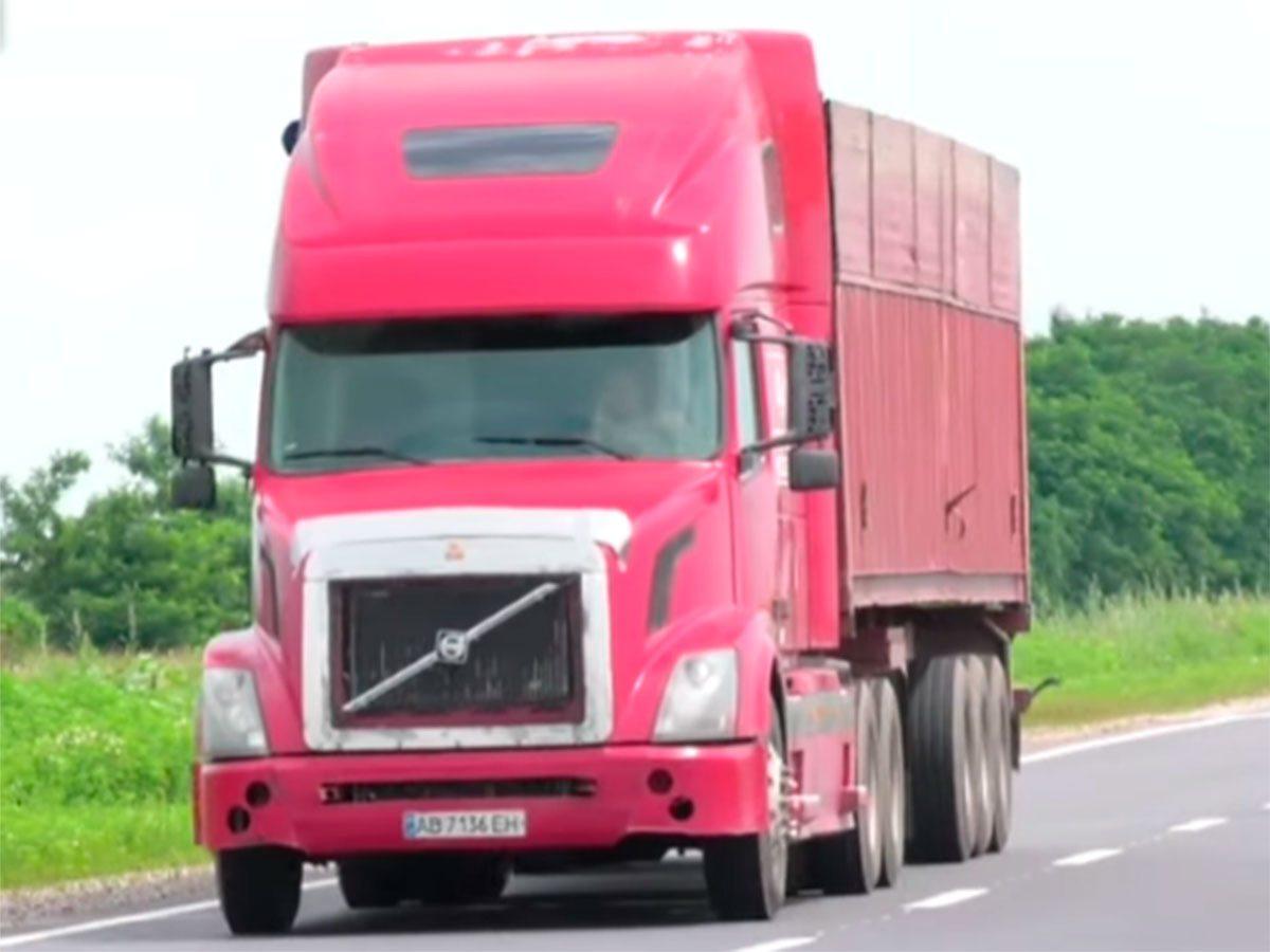 Херсонщина, відео, вантажівки